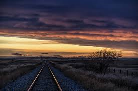 Prairie Train Tracks